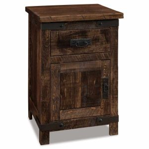 Ironwood 1 Drawer 1 Door Nightstand 022