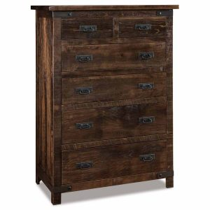 Ironwood 6 Drawer Chest 040
