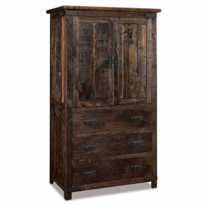 Ironwood Armoire 041-3