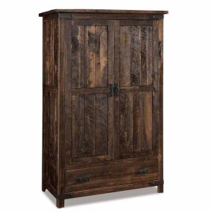 Ironwood Wardrobe Armoire 050