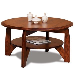 Boulder Creek Round Coffee Table FVCT-38R-BC