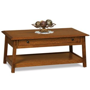 Colbran Open Coffe Table with Drawer FVCT-BC