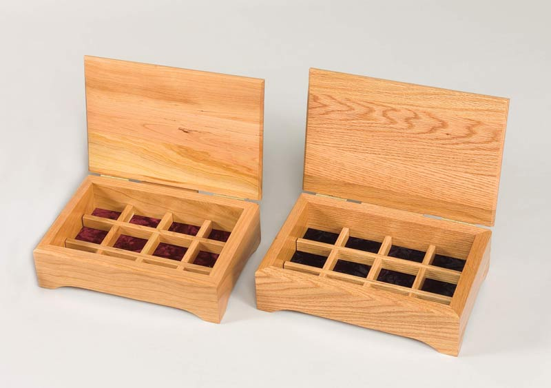 Amish Furniture Jewelry Box