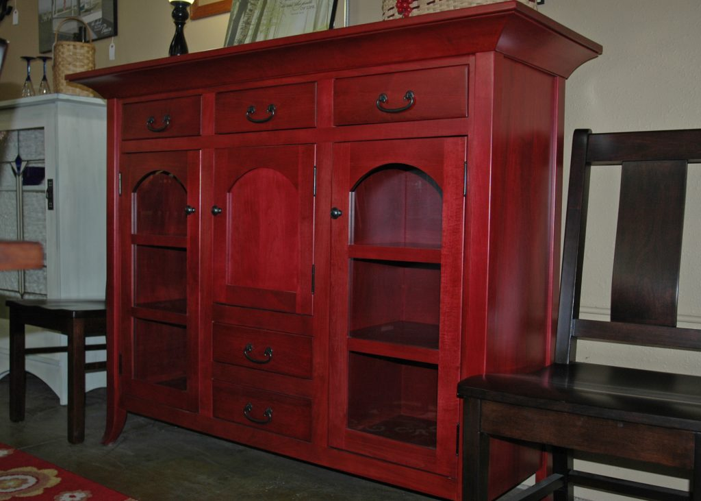 Color on Custom Amish Furniture