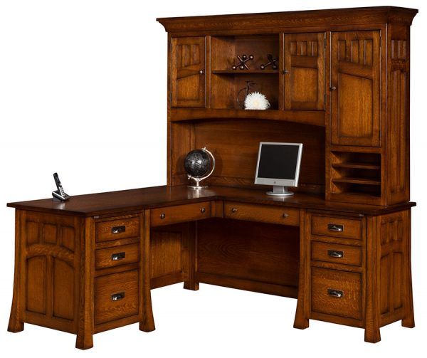 Home Office with Amish Furniture