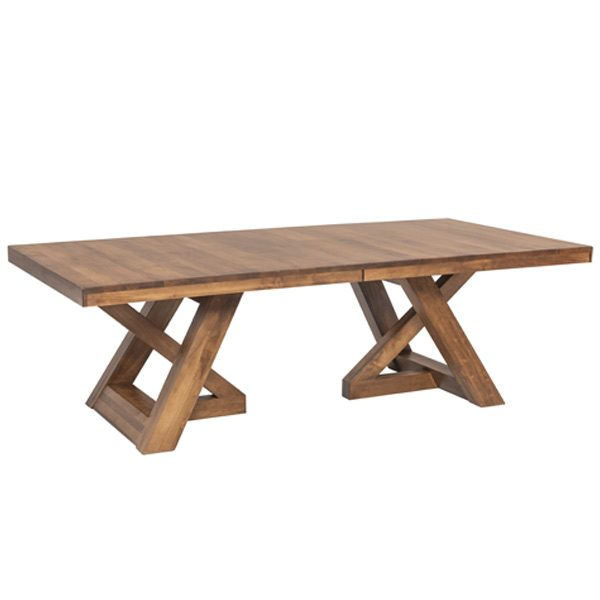 Elvira Double Pedestal Dining Table