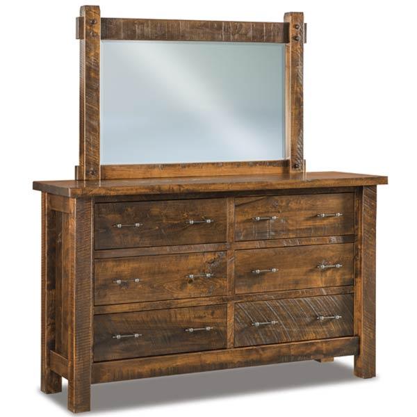 Couches For Sale Houston: Houston 6 Drawer Dresser 063
