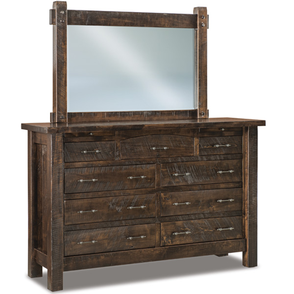 Couches For Sale Houston: Houston Dresser With Jewelry Drawer 067-1