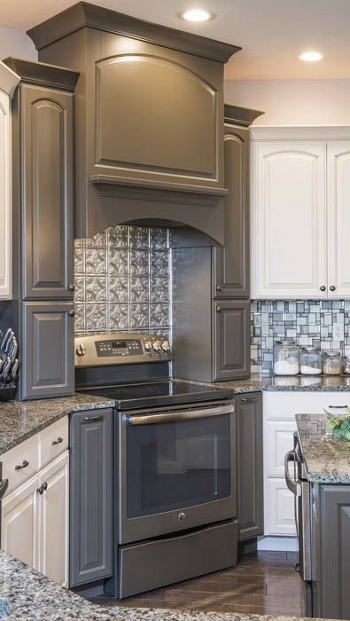 Custom Painted Kitchen Cabinets | Solid Wood | Made in the USA