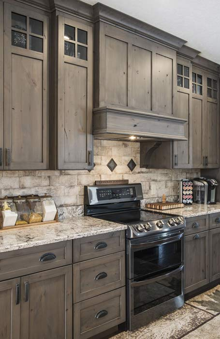 Custom Rustic Kitchen Cabinets | Solid Wood | Made in the USA
