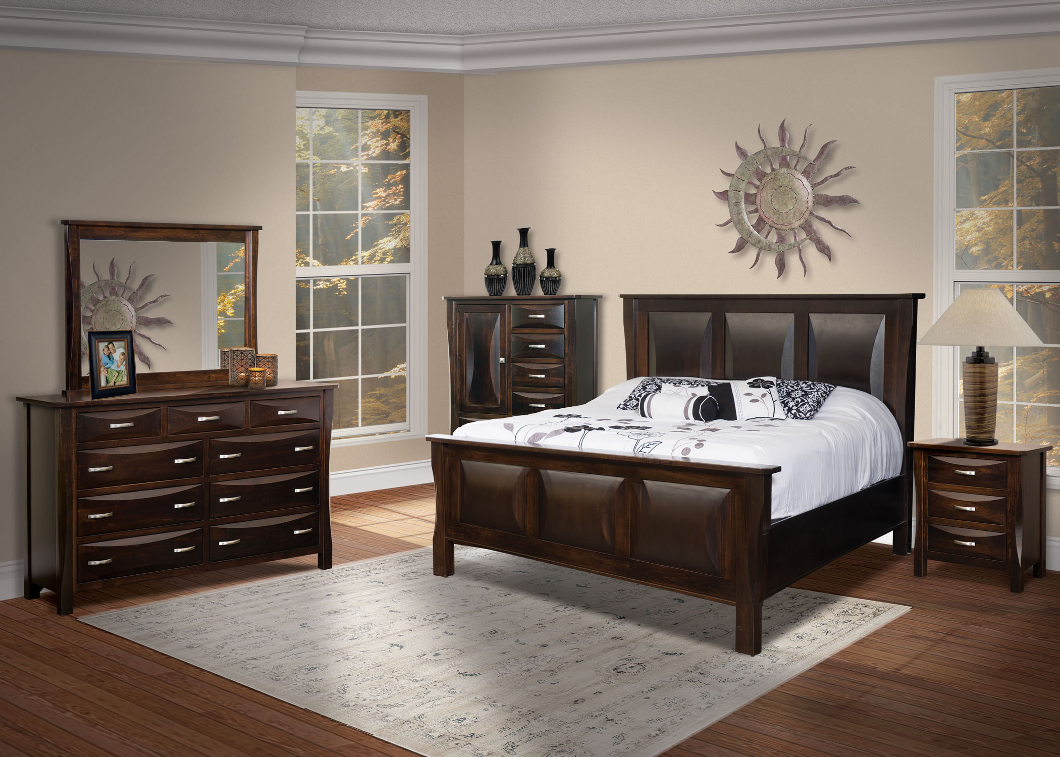 Preston Bedroom Suite - Buy Custom Amish Furniture  Amish